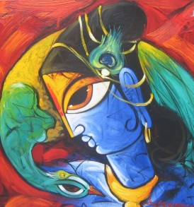 Sachindranath Jha Painting