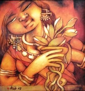 Anup Giri Painting