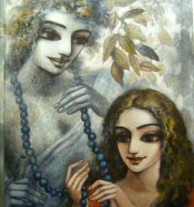 Asit Sarkar Painting