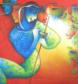 Rajat Nandi Painting