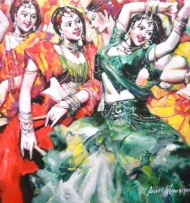 Subrata Gangopadhyay Painting