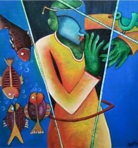 Anupam Pal Painting
