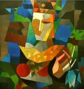 Niren Sengupta Painting