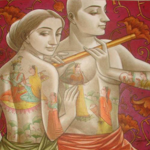 Sukanta-Das-Couple-36x36
