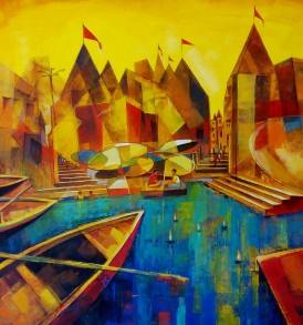 Lalit Maity Painting