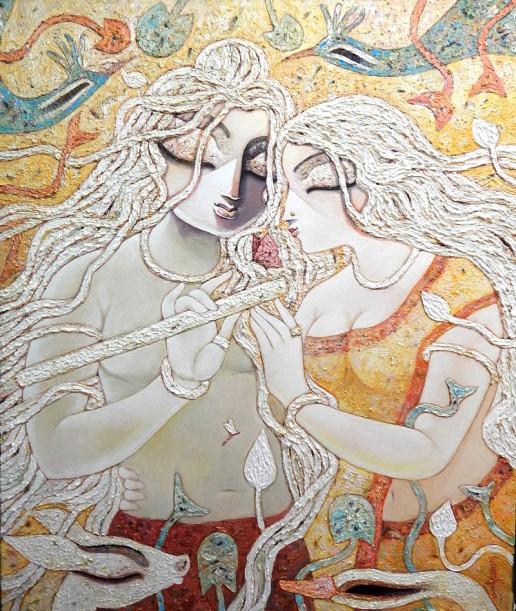 Subtata Ghosh Painting