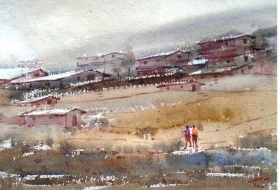Ananda Ahire Paintings
