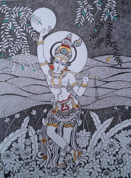 Dalip Chandolia Painting