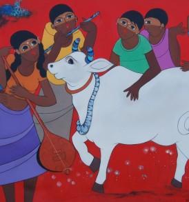 Dnyaneshwar Bembade Painting