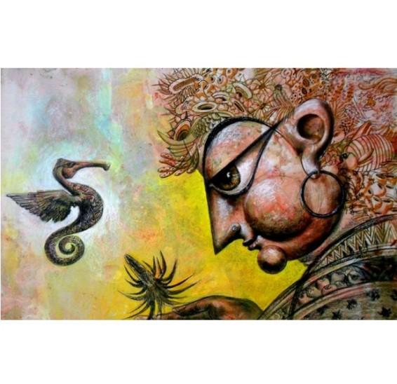 Saumya Bandyopadhyay Painting