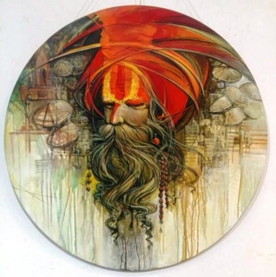 Manoj Das Painting