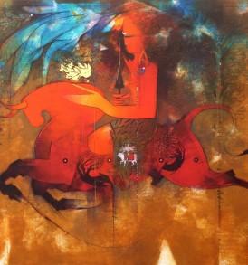 Amol Pawar painting-indianartplace.com