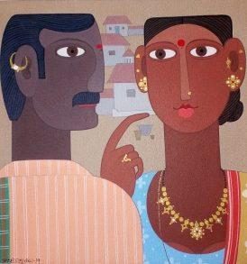 Kandi Narsimlu Painting