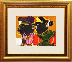 Vaikuntam Painting buy IndianArtPlace.com